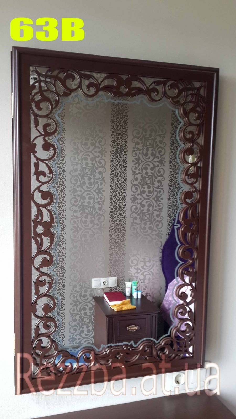 фигурная резка из декоративного зеркала