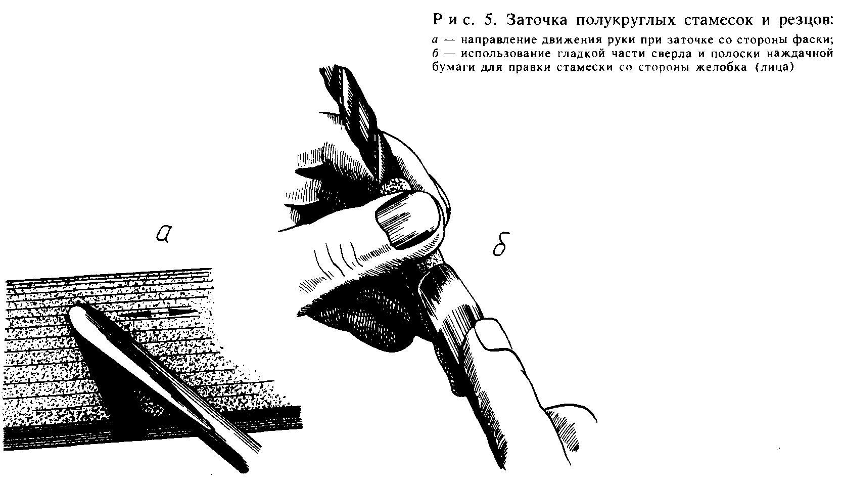 Полукруглый резец своими руками